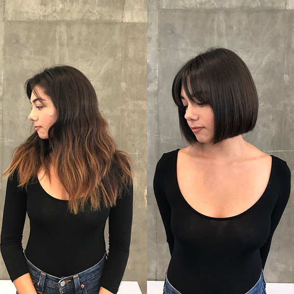 Simple-Bob-Cut Best Bob Haircut Pictures in 2019