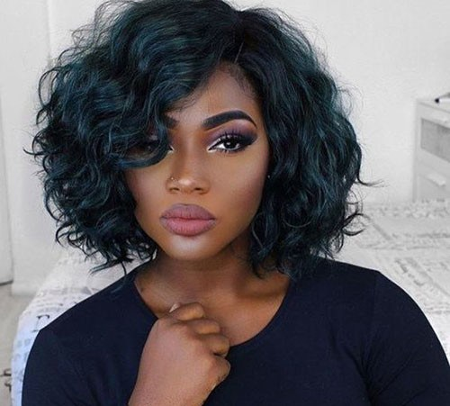 Thick-Naturally-Curly-Hair Stunning Curly Short Hair Ideas for Women