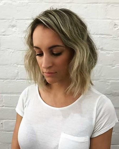 Blonde-Balayage Chic Stacked Bob Haircuts that We Love