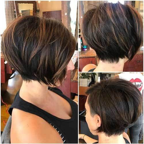 Bob-Cut Short Hairstyles for Straight Fine Hair