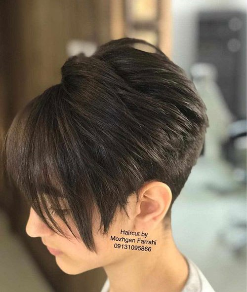 Pixie-Bob-Cut Stylish Short Bob Haircuts for Women