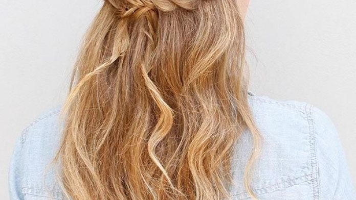 Braided-Long-Hair Greek Hairstyles for an Ultimate Goddess Look