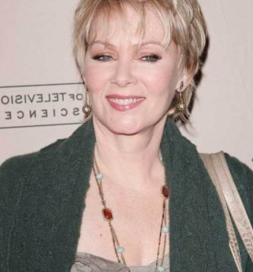Short-Layered-Hair Short Hairstyles for Women Over 50 To Look Stylish