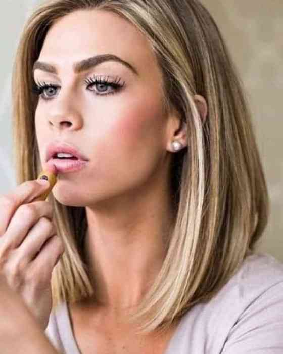 Balayage-Highlights Brown Highlights On Black Hair That Looks Good