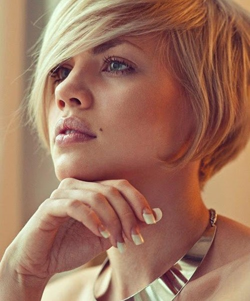 Short-Messy-Bob-Hairstyles Short Messy Bob Hairstyles for Fast And Easy Styling