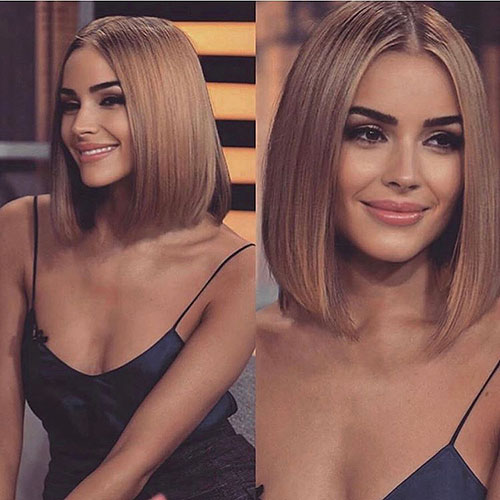 Smooth-Straight-Hair 30 Short Blonde Hair Ideas Trending Right Now In 2020