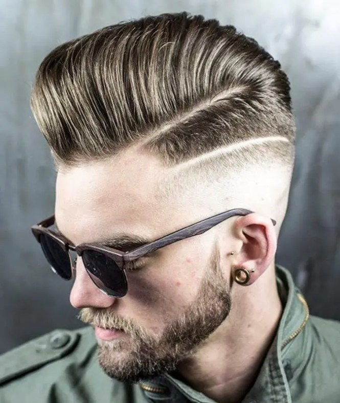 Haircut With Line Spikes