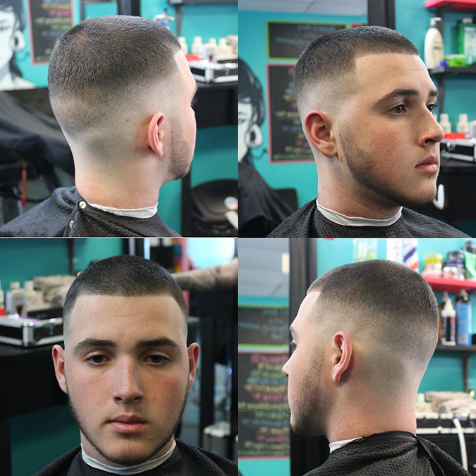 The High And Tight A Classic Military Cut For Men