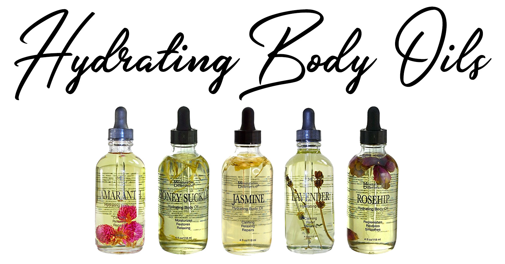 Measurable Difference Hydrating Body Oils Relaxed