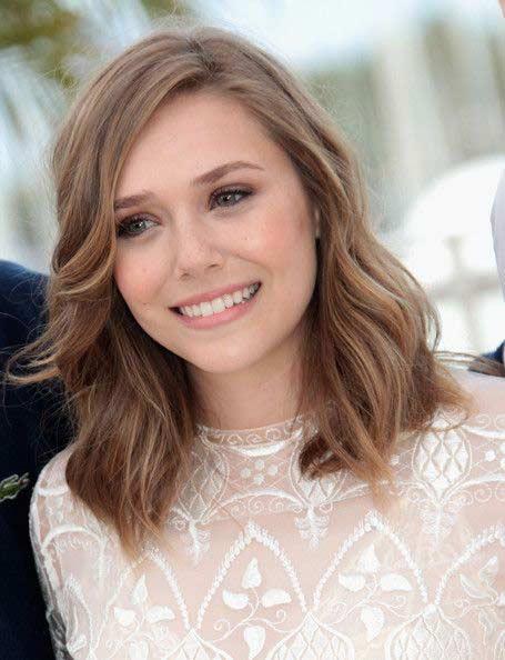 Elizabeth Olsen Hair Hair Colar And Cut Style