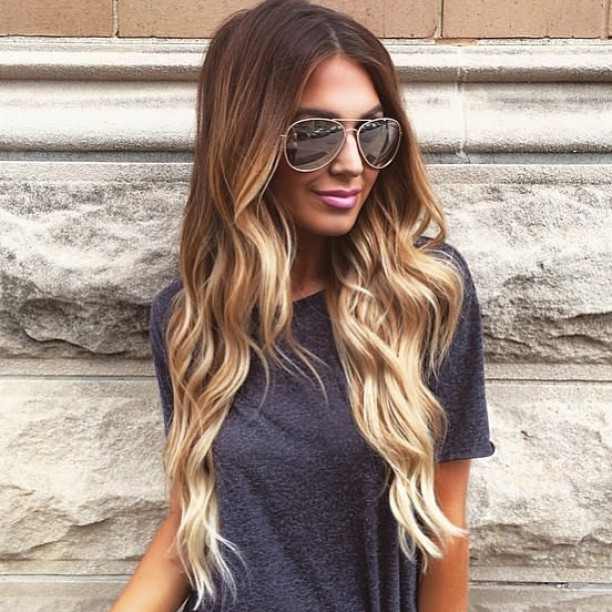 Ash Blonde Golden Highlights Hair Colar And Cut Style