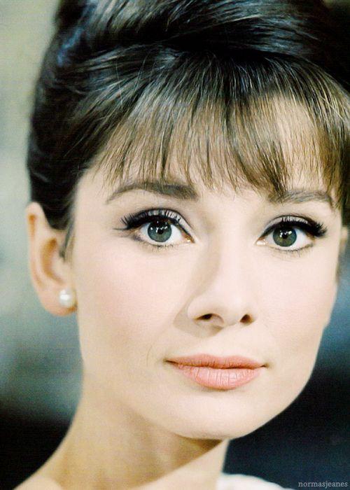 Audrey Hepburn Hair Color Hair Colar And Cut Style