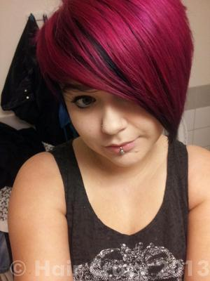 directions dark tulip hair colar and cut style