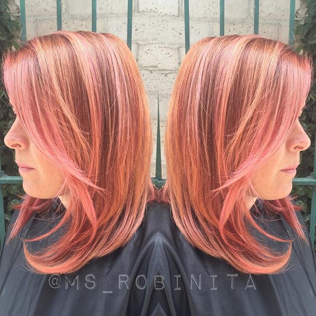 Hair Trends Haircuts Medium Hair Colar And Cut Style