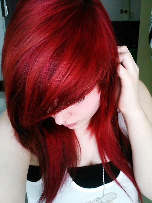 Manic Panic Vampire Red Hair Colar And Cut Style