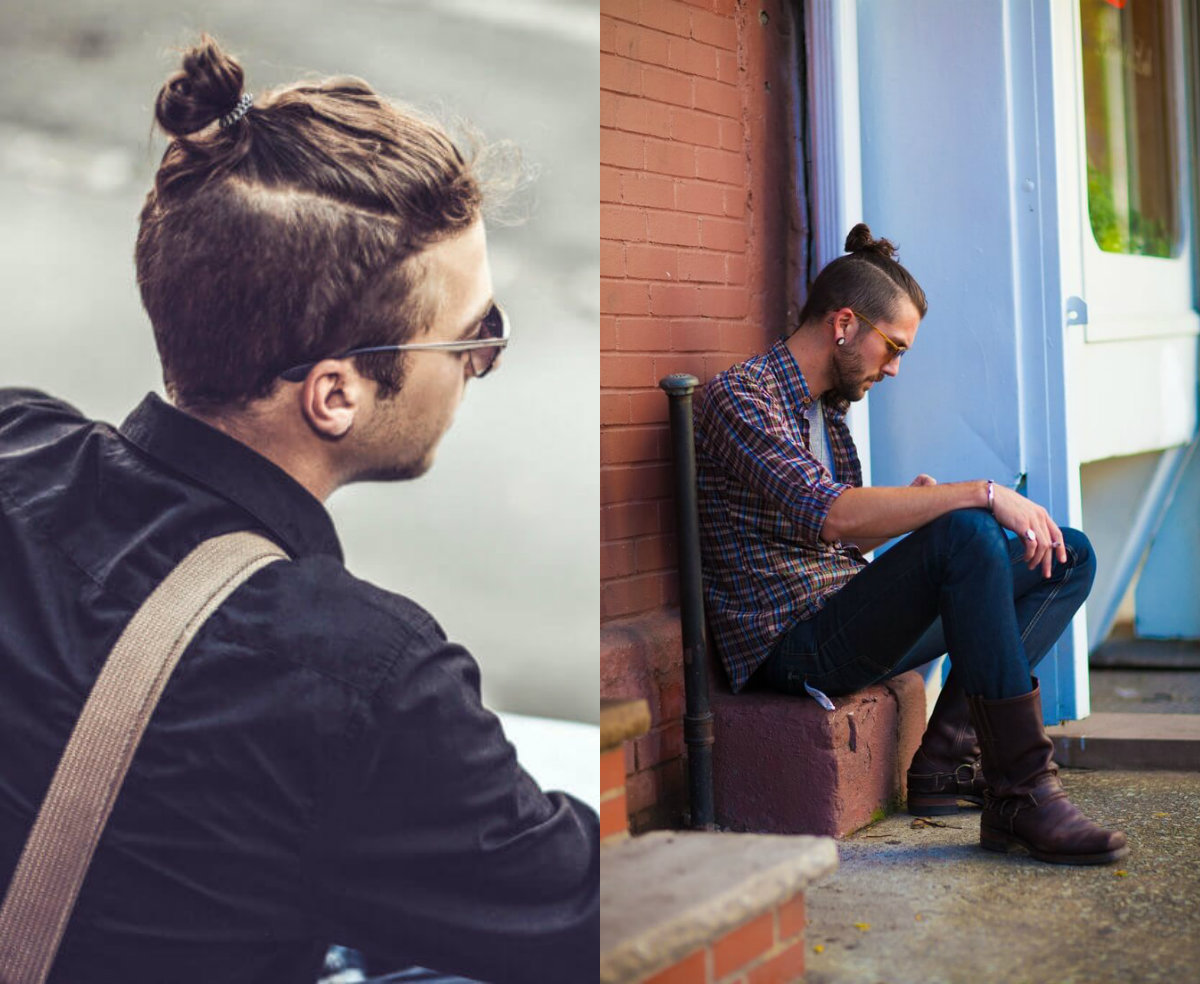 Samurai Knots Hairstyles For Men Have Become Mass Trend