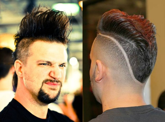 comicsfancompanion: mohawk hairstyles for men for your reference