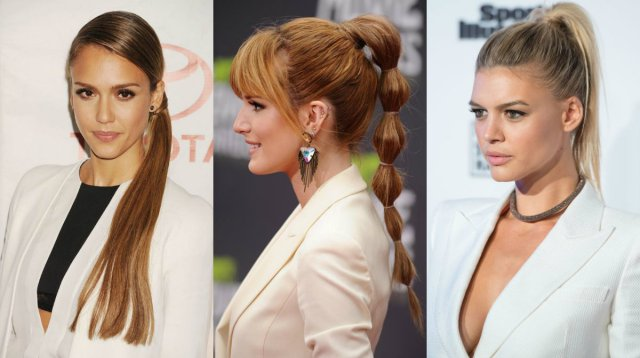 office ponytails for 2016 fall business style looks