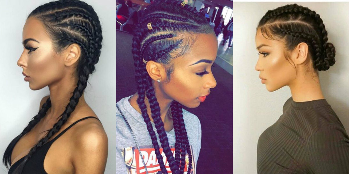 cornrows-black-women-natural-hairstyles