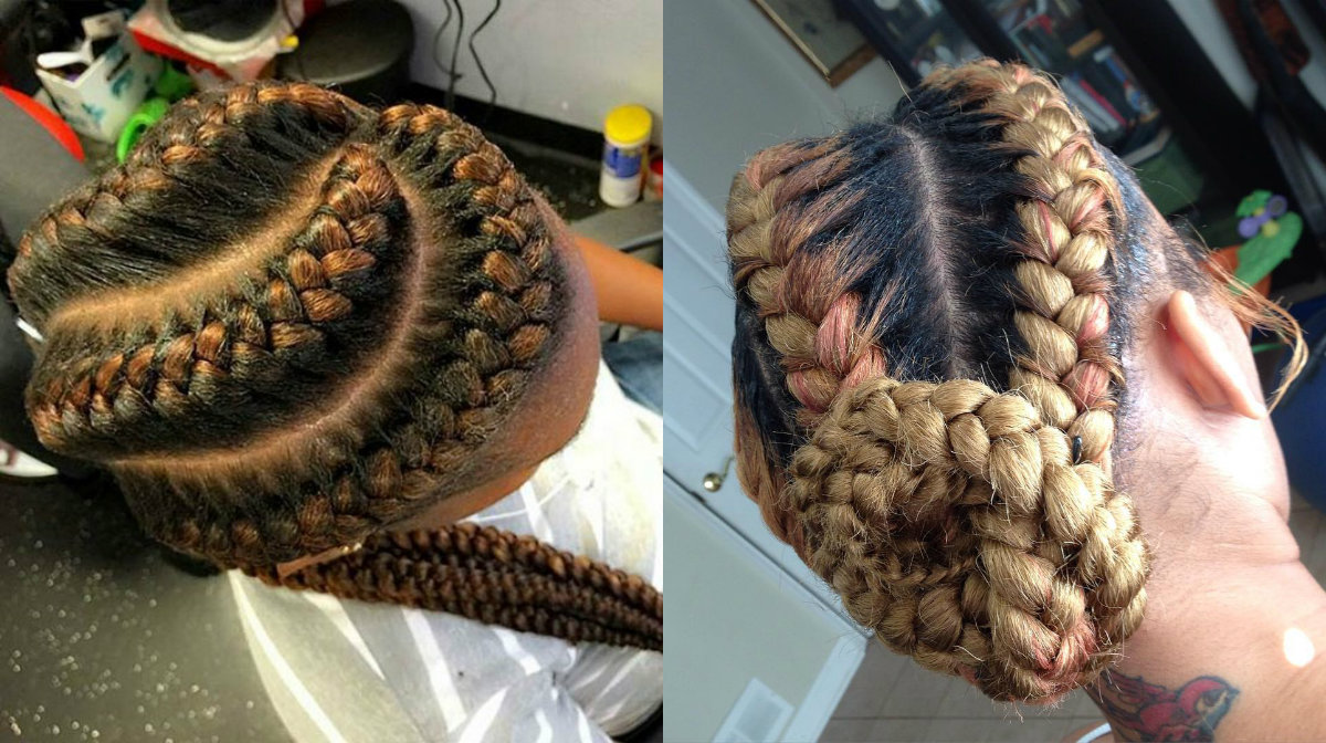 goddess-braids-hairstyles-with-highlights
