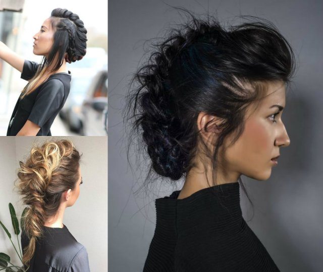 expressive women braided mohawk hairstyles | hairdrome