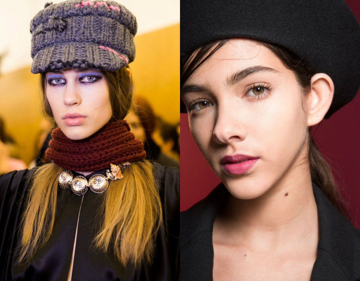 fall 2017 hair trends with hats