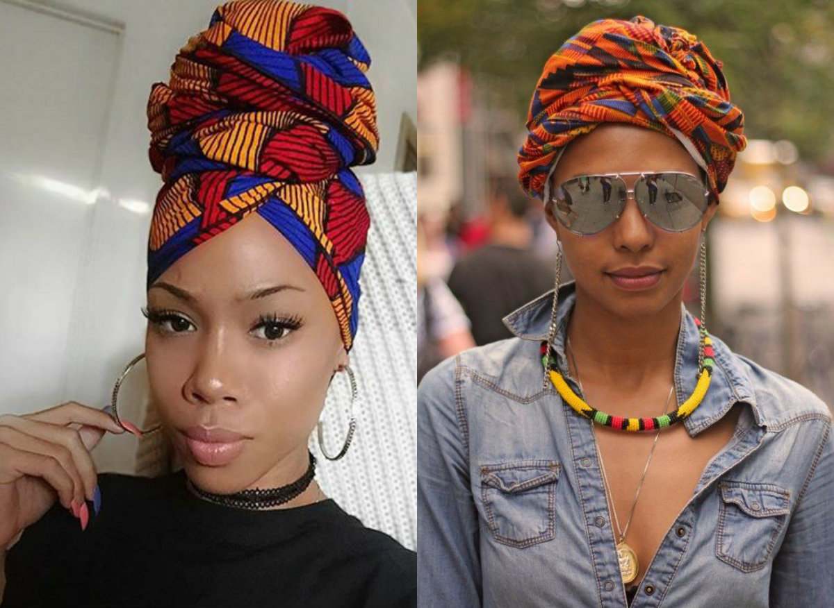 Jaw Dropping Head Wrap Hair Accessories Amp Styles
