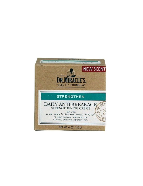Dr. Miracle's daily Anti Breakage Strength creme 4 oz