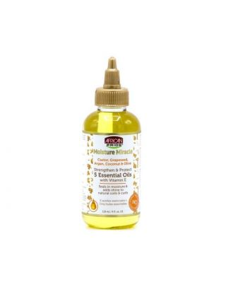 African Pride Moisture Miracle Strengthen & Protect 5 Essential Oils With Vitamin E 118ml