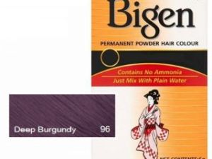 Bigen Hair Color Deep Burgundy No. 96