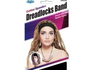 Dream World Dreadlocks Band Black