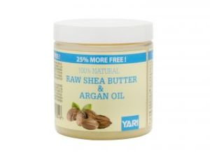 Yari 100% Raw Shea Butter & Argan Oil 250ml
