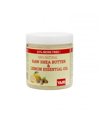Yari 100% Raw Shea Butter & Lemon Oil 250ml