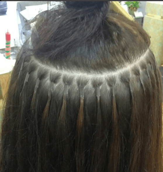 Affordable Keratin Micro Extensions Hair Extensions By Denise
