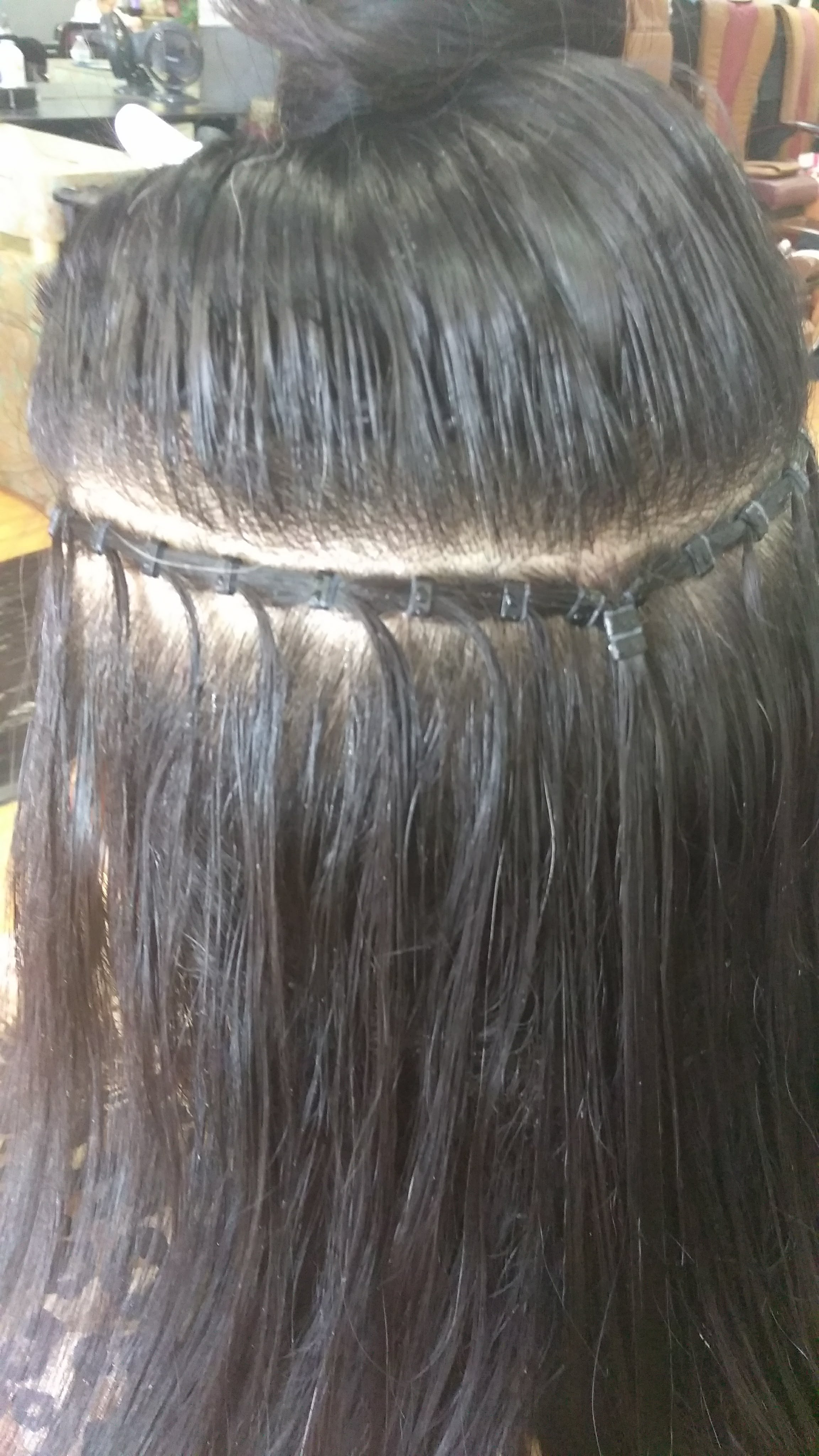 how to clean and reuse tape hair extensions