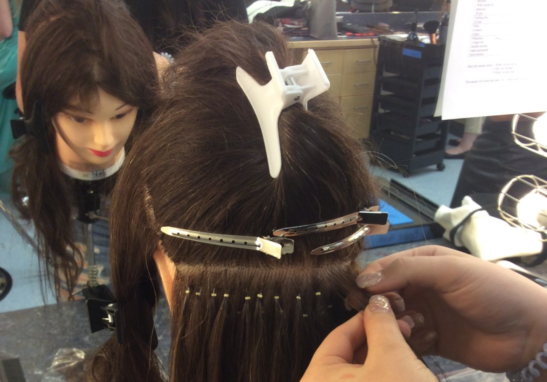 How Are Hair Extensions Put In