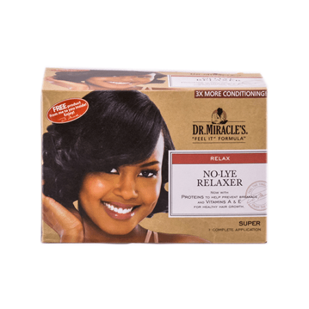 Dr Miracles Super No-Lye Relaxer Kit