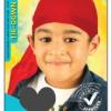 M1951AST Kids Coloured Durag