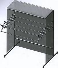 Automatic Retractable Cloth Drying Stand (Arcs)