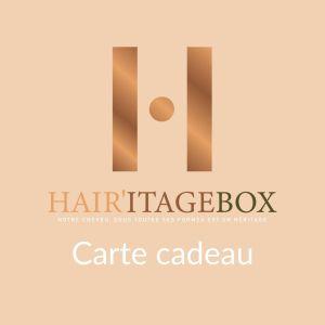 Carte cadeau Hairitagebox