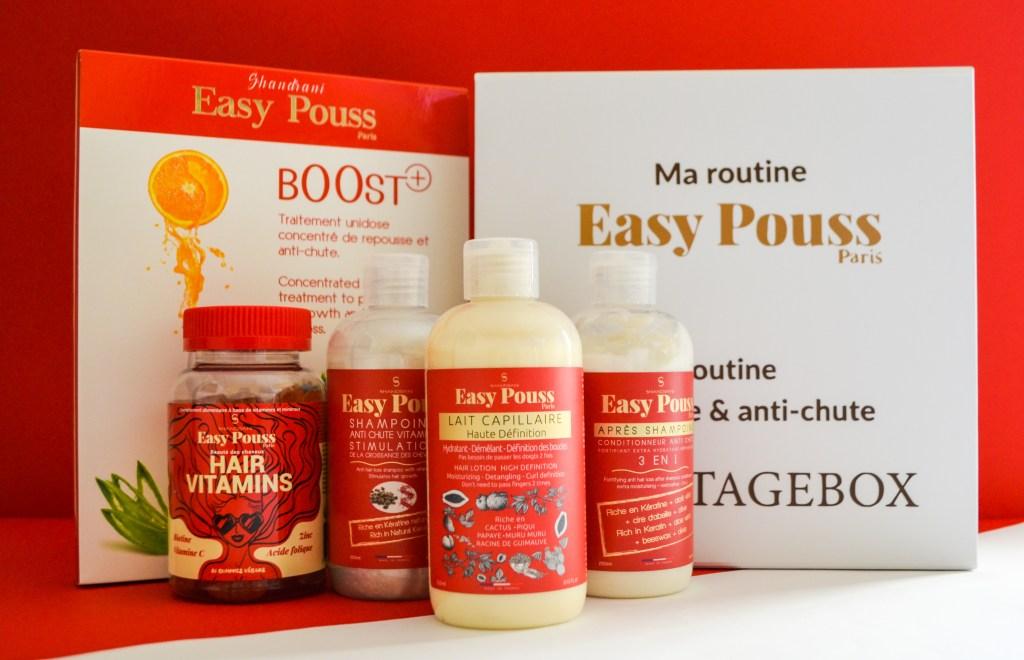Box exclusive Easy Pouss X Hair'itageBox