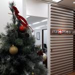 AGAスキンクリニック新宿アイランドタワー院のクリスマス仕様