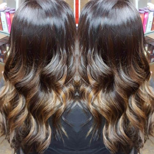 Dark Brown Highlights And Lowlights