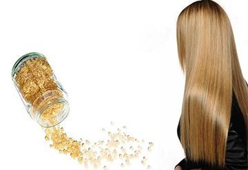 Laminação de cabelo caseiro