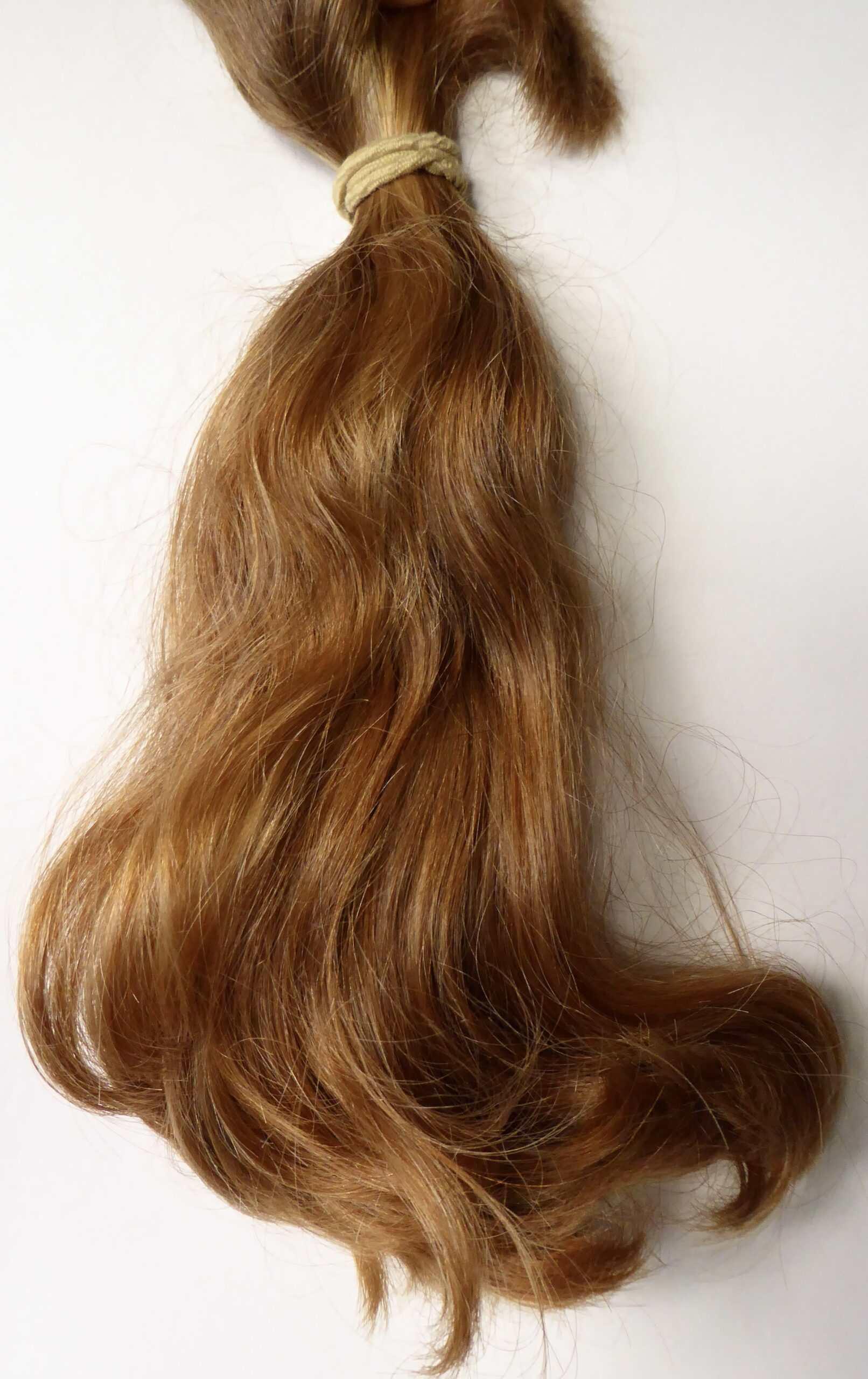 Light red/strawberry blonde virgin hair