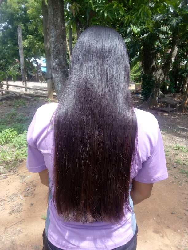 """Can be cut for 16"""" long (My Hair)"""
