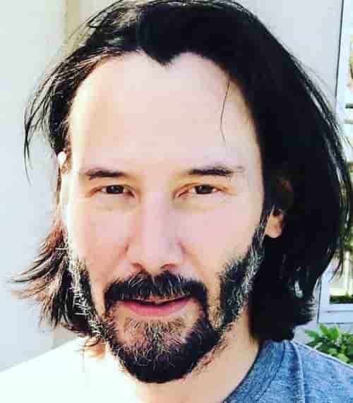 JOHN WICK HAIRCUT WITH BEARD