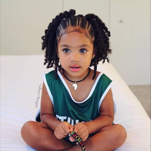 FRONT PROTECTIVE BRAID HAIRSTYLE