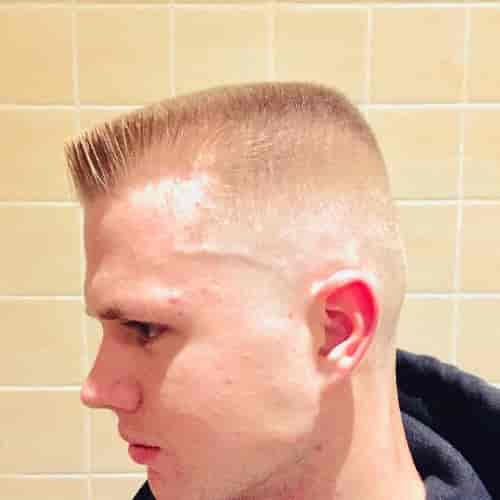 HIGH AND TIGHT WITH FLAT TOP