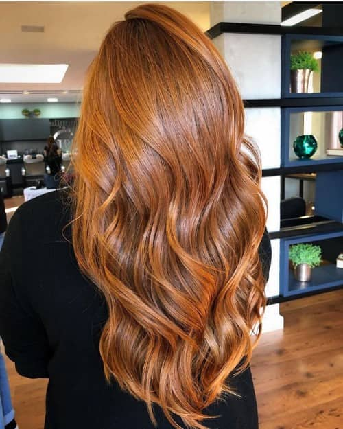 Brown Ombrë- curly hair color ideas